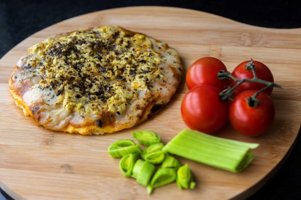Pizza Low Carb de Frango